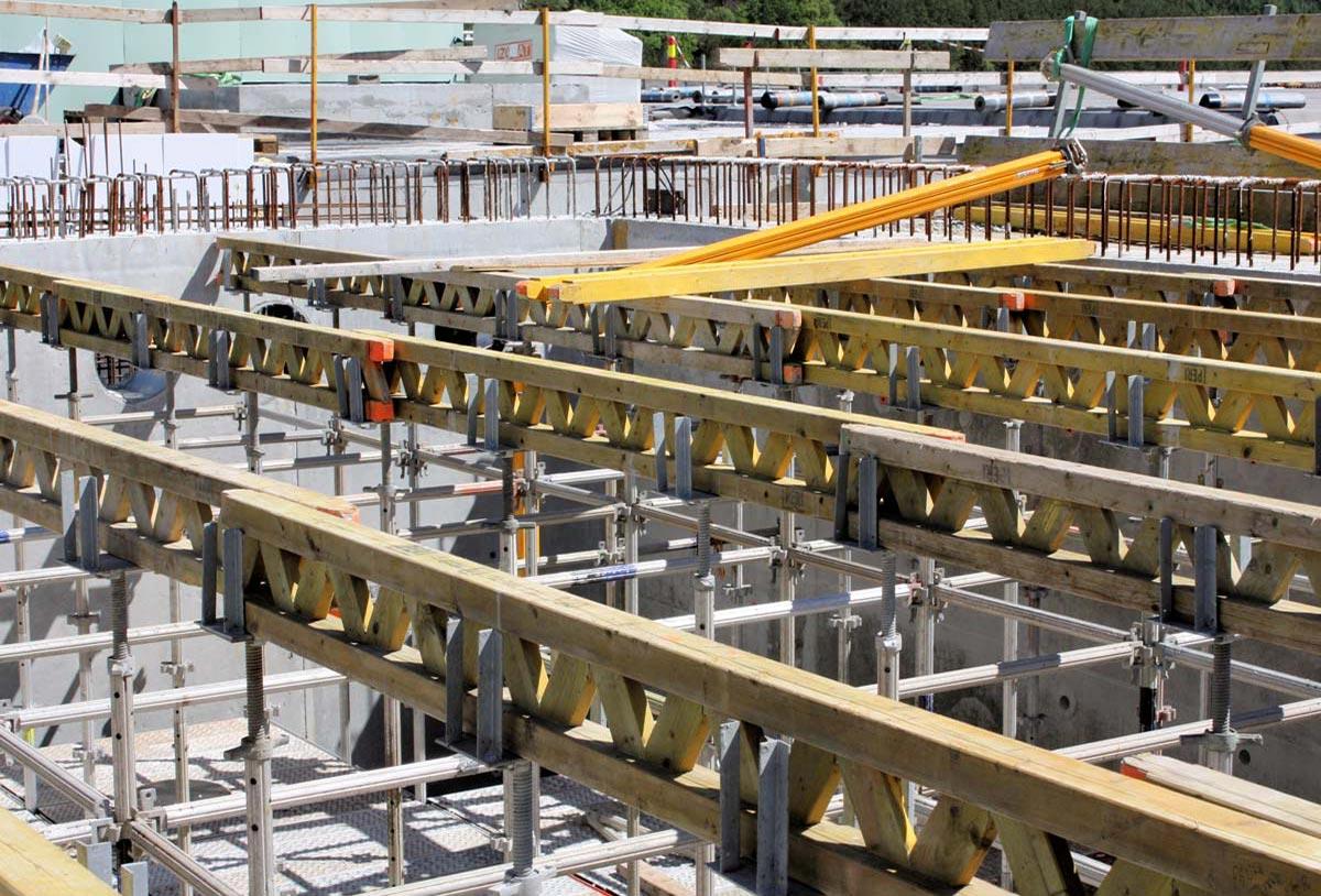 Ponteggio Impianto Trattamento Acque di Stavanger realizzato con Pon Cad
