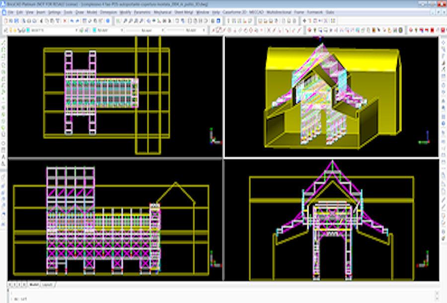 software PON CAD per disegnare in 3d bim VR