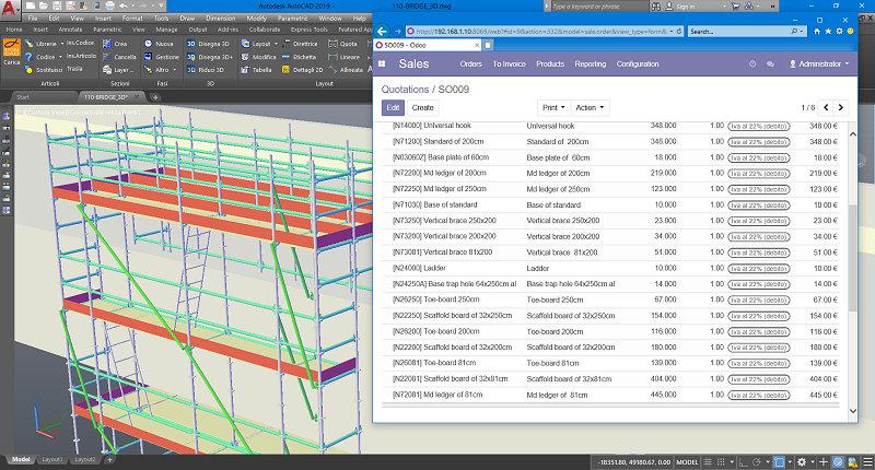 foto integrazione PON CAD con ODOO